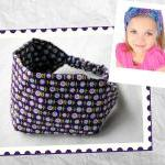 Girls Wide Stretch Headband..