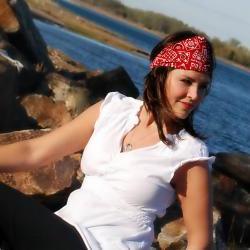Wide Stretch Womens/Teens Headband, Bandana Print, Hairband- Red Bandana