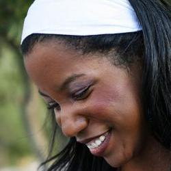 Super Soft Wide Stretch Knit Headband- White Slub